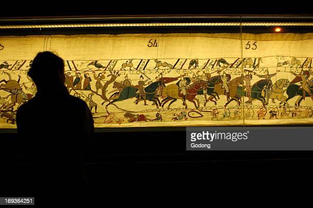 Bayeux Tapestry known in France as 'La Tapisserie de la Reine Mathilde'