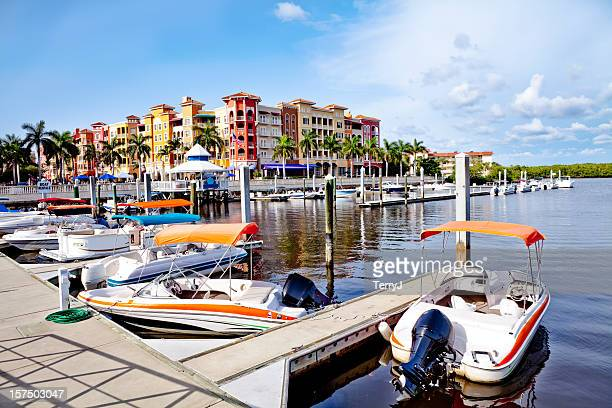 bayfront - naples florida stock pictures, royalty-free photos & images