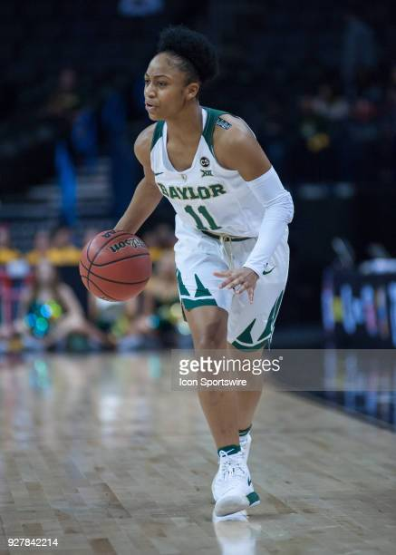 Baylor Alexis Morris in game versus Texas University during the Big 12 Women's Championship on March 05 2018 at Chesapeake Energy Arena in Oklahoma...