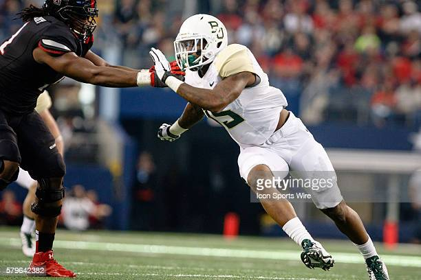 Baylor Bears defensive end Brian Nance during the TFBI Shootout between the Texas Tech Red Raiders and the Baylor Bears played at AT&T Stadium in...