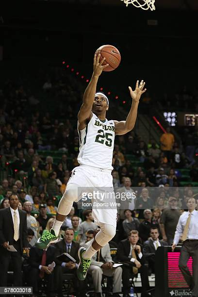 Baylor Bears guard Al Freeman during the NCAA basketball game between the TCU Horned Frogs and the Baylor Bears played at the Ferrell Center in Waco...