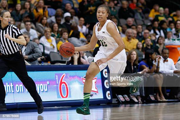 Baylor Bears guard Alexis Prince during the NCAA Big 12 Women's basketball championship game between the Baylor Bears and the Texas Longhorns at the...