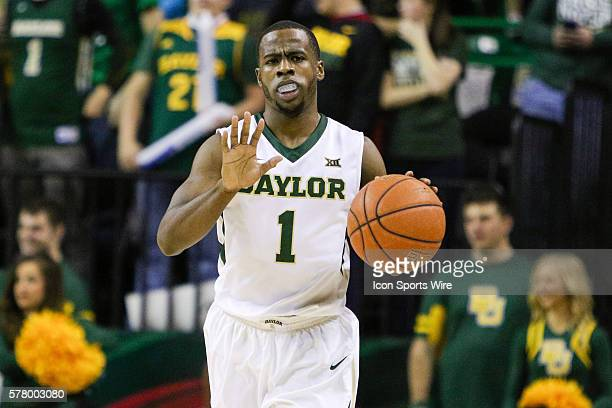 Baylor Bears guard Kenny Chery during the NCAA basketball game between the TCU Horned Frogs and the Baylor Bears played at the Ferrell Center in Waco...