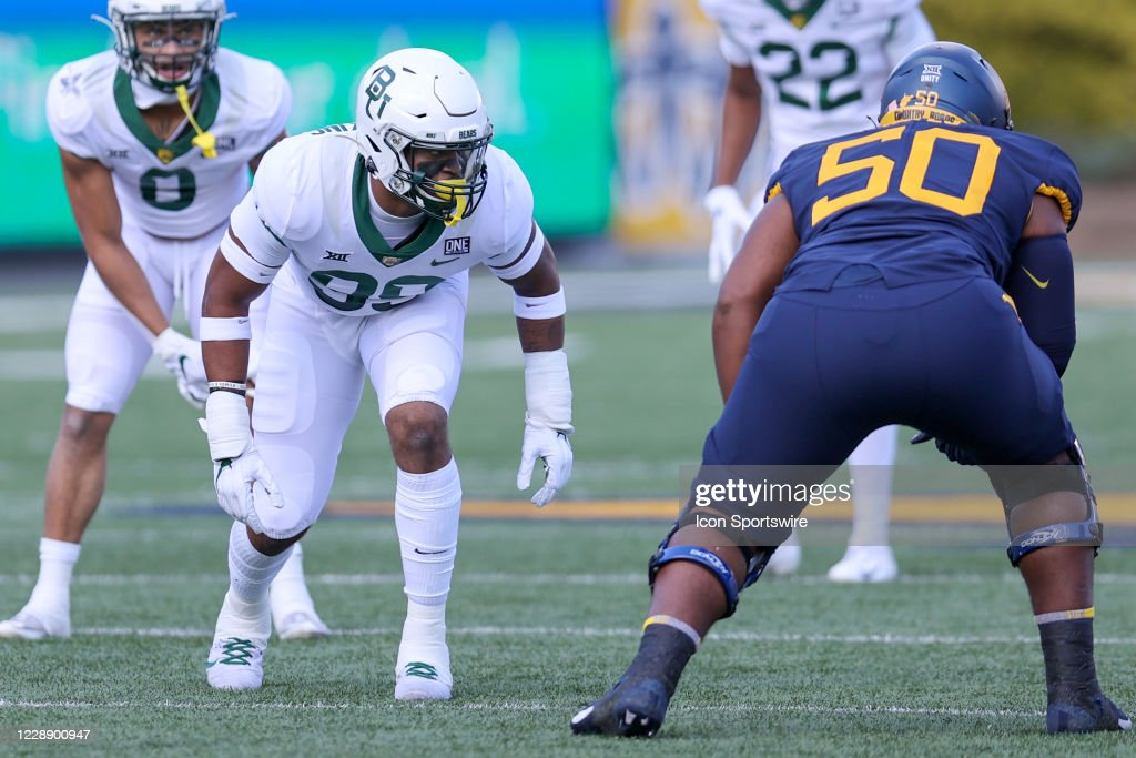 COLLEGE FOOTBALL: OCT 03 Baylor at West Virginia : News Photo