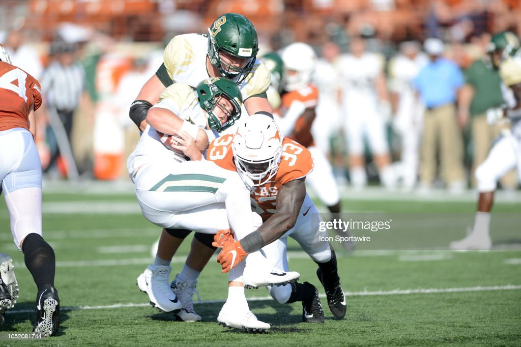 COLLEGE FOOTBALL: OCT 13 Baylor at Texas : News Photo