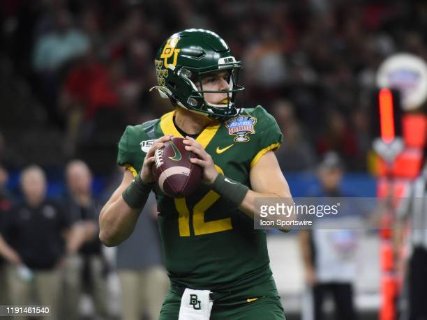 Baylor Bears Quarterback Charlie Brewer during the Allstate Sugar Bowl between the Georgia Bulldogs and Baylor Bears on January 01 at MercedesBenz...