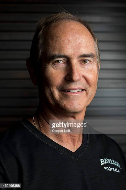 Baylor head coach Art Briles poses for a portrait during the Big 12 Media Day on July 21, 2014 at the Omni Hotel in Dallas, Texas.