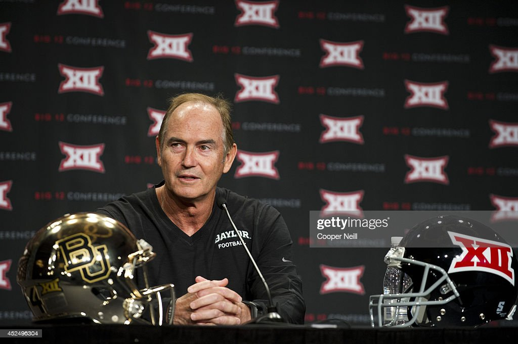 Big 12 Football Media Days : News Photo