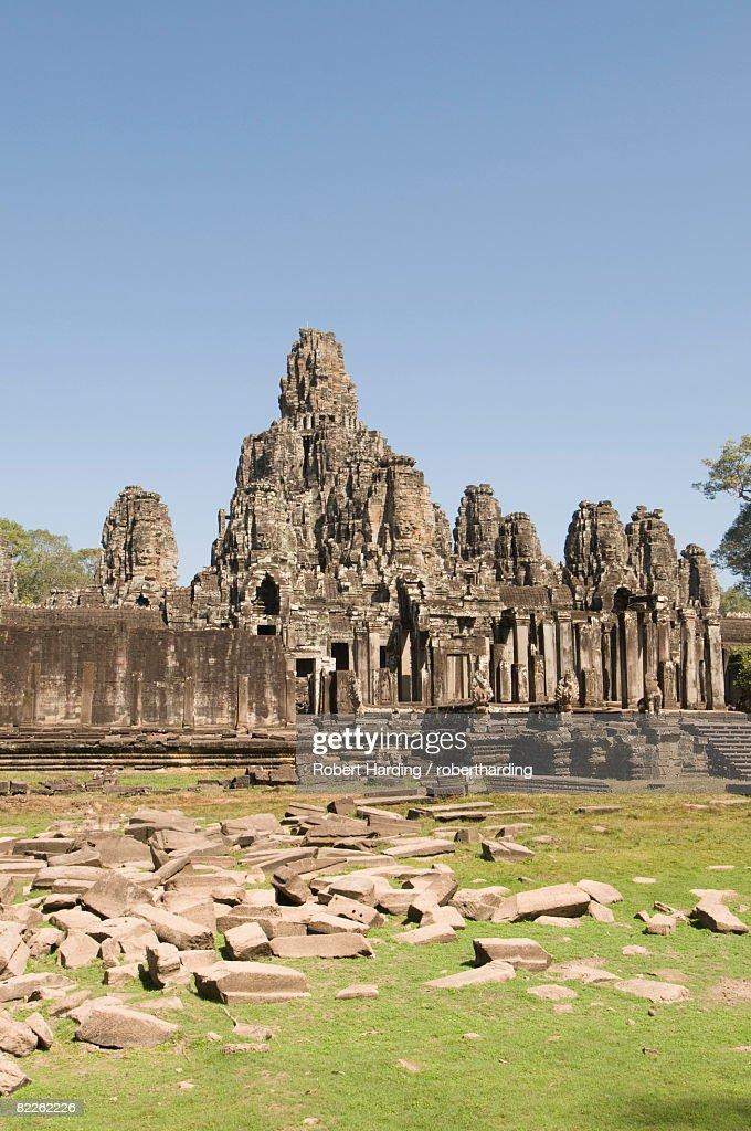 Bayon Temple, Buddhist, Angkor Thom, Angkor, UNESCO World Heritage Site, Siem Reap, Cambodia, Indochina, Southeast Asia, Asia : Stock Photo