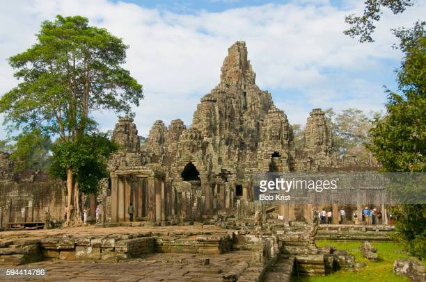 Bayon Temple in Angkor Thom Complex