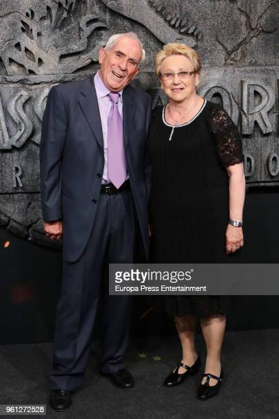 Bayona parents attend the 'Jurassic World Fallen Kindom' premiere at Wizink Center on May 21 2018 in Madrid Spain