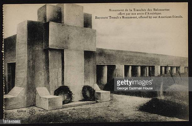 Bayonet Trench Monument offered by our American friends ca 1920