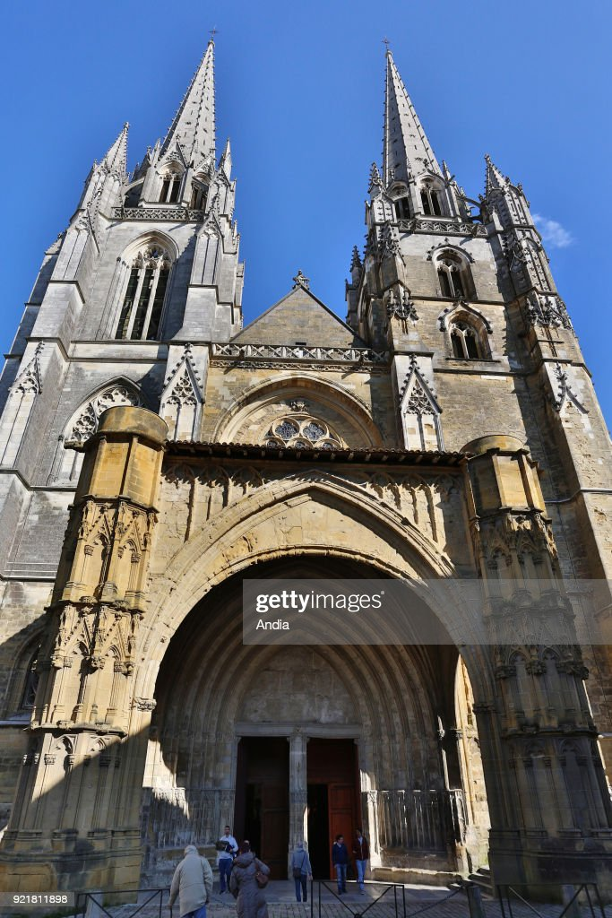 Bayonne Cathedral (Cathedrale Sainte-Marie de Bayonne).