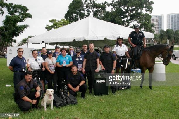 Bayside Marketplace Family Day police K9 dog bomb squad mounted Segway
