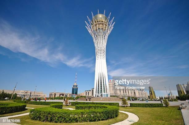 Bayterek Tower in Astana City