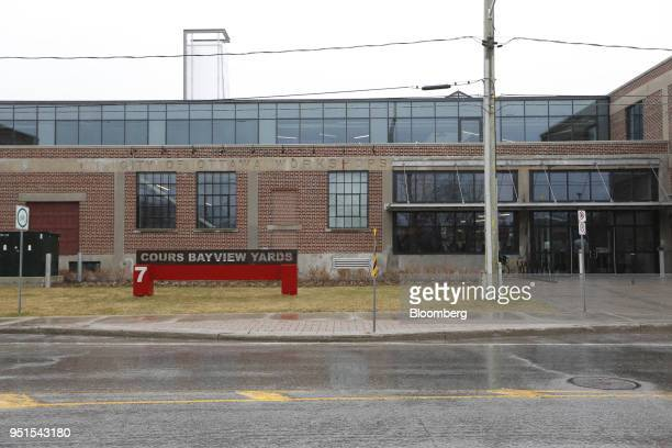 Bayview Yards innovation center stands in Ottawa Ontario Canada on Wednesday April 25 2018 Bayview Yards is a federallyincorporated nonprofit agency...
