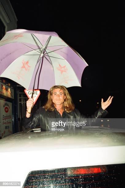 Baywatch actor Jaason Simmonds visits Nue Valbonne Nightclub Reading 16th April 1995
