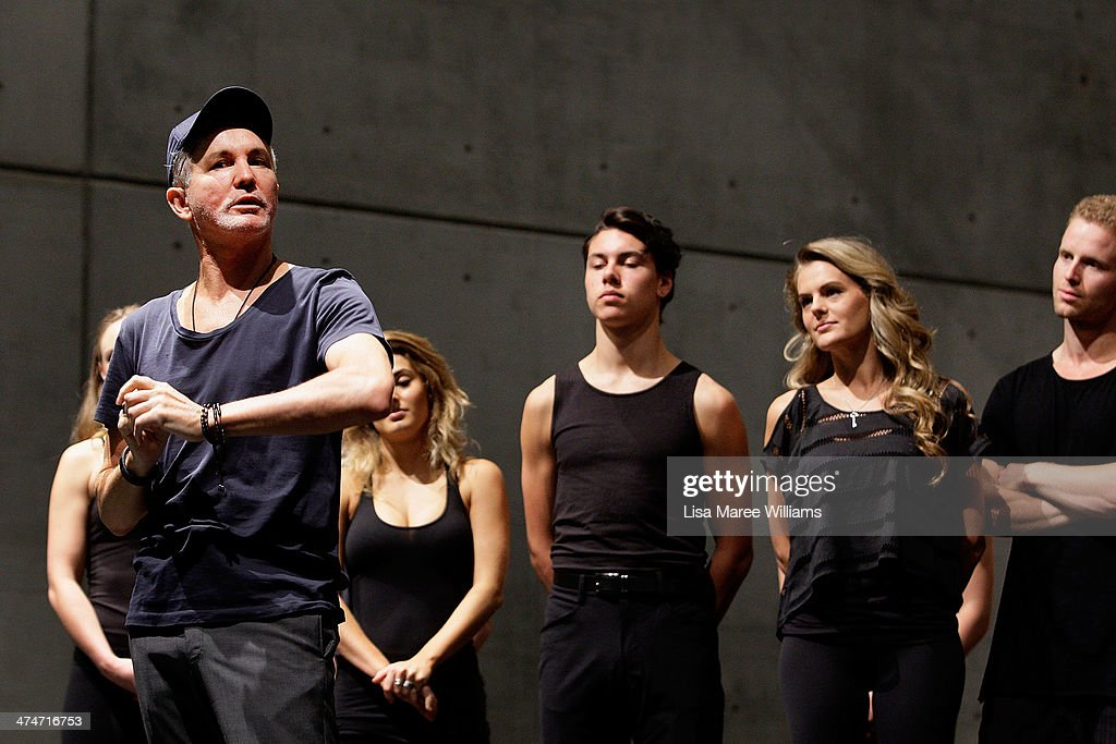 'Strictly Ballroom The Musical' Rehearsal In Sydney