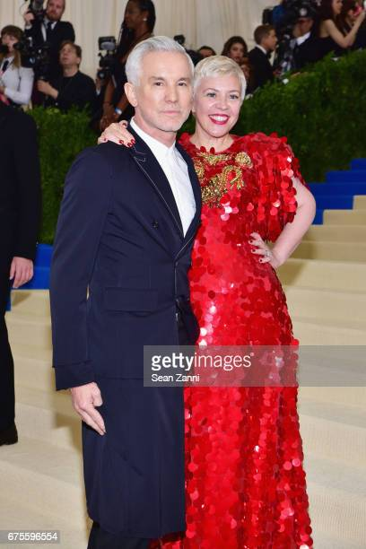 Baz Luhrmann and Catherine Martin arrives at 'Rei Kawakubo/Comme des Garcons Art Of The InBetween' Costume Institute Gala at The Metropolitan Museum...