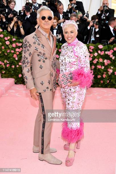 Baz Luhrmann and Catherine Martin attend The 2019 Met Gala Celebrating Camp Notes on Fashion at Metropolitan Museum of Art on May 06 2019 in New York...