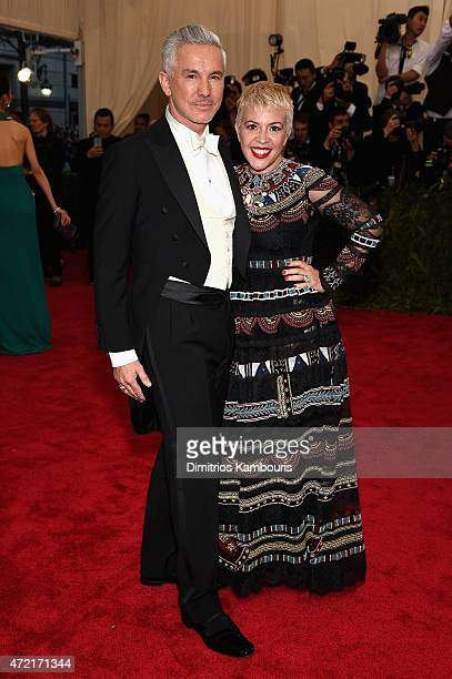 Baz Luhrmann and Catherine Martin attend the 'China Through The Looking Glass' Costume Institute Benefit Gala at the Metropolitan Museum of Art on...