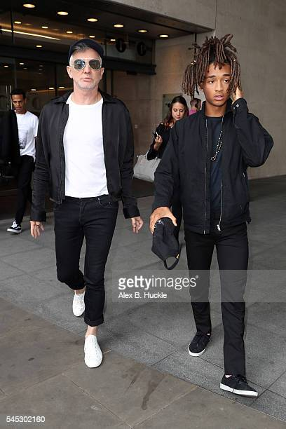 Baz Luhrmann and Jaden Smith seen leaving the BBC Radio 2 Studios on July 7 2016 in London England Actormusician Jaden Smith has joined the cast of...
