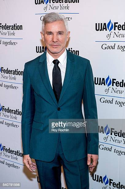 Baz Luhrmann attends the 2016 UJAFederation of New York's Music Visionary of The Year Award Luncheon at The Pierre Hotel on June 16 2016 in New York...
