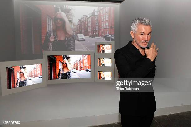 Baz Luhrmann attends The Visionary World of Vogue Italia Exhibition Opening Night presented by Peroni Nastro Azzurro on October 14 2014 in New York...
