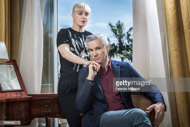Baz Luhrmann Catherine Martin for The Hollywood Reporter on May 20 2013 in Cannes France