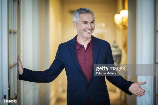 Baz Luhrmann is photographed for Self Assignment on May 20 2013 in Cannes France