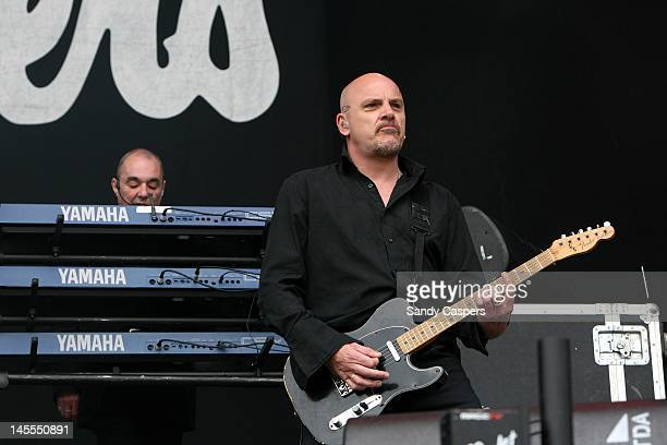 Baz Warne and Dave Greenfield of The Stranglers perform on stage during Rock Im Park at Zeppelinfeld on June 1 2012 in Nuremberg Germany