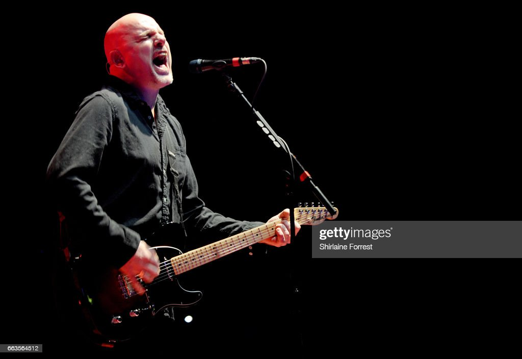 Baz Warne of The Stranglers performs at O2 Apollo Manchester on April 1, 2017 in Manchester, United Kingdom.