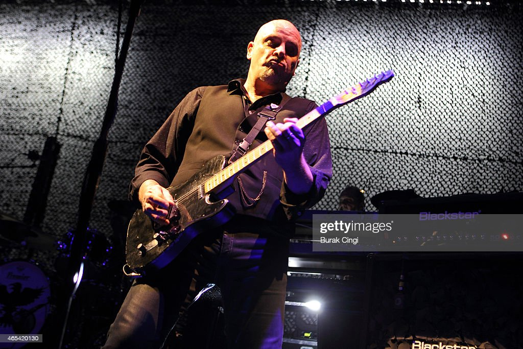 Baz Warne of The Stranglers performs on stage at The Roundhouse on March 6, 2015 in London, United Kingdom.