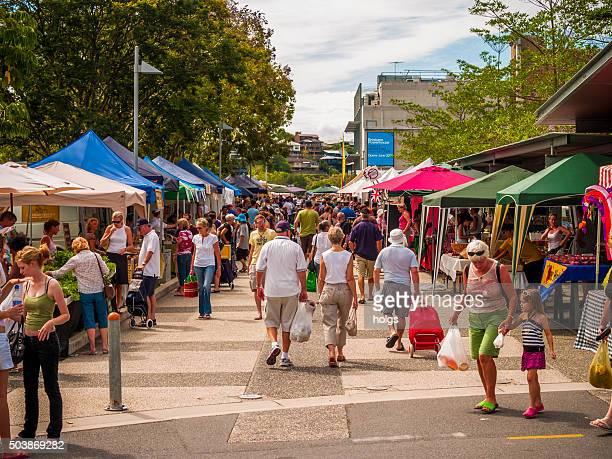 Bazaar in Brisbane, Australia