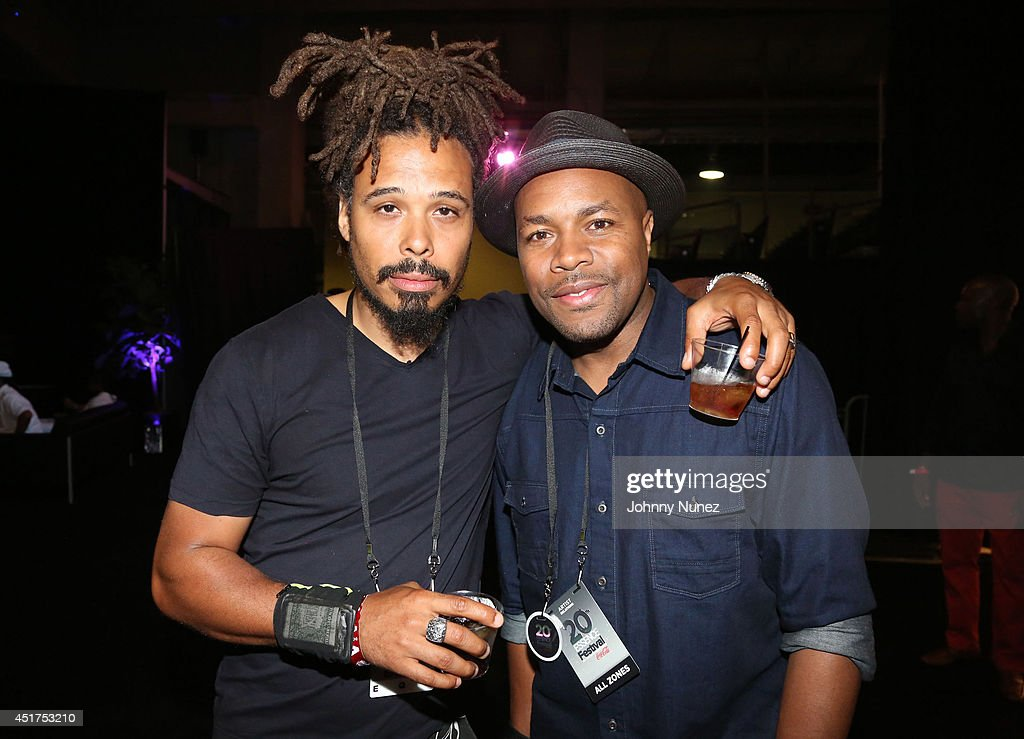 Bazaar Royale and DJ D-Nice attend the 2014 Essence Music Festival on July 5, 2014 in New Orleans, Louisiana.