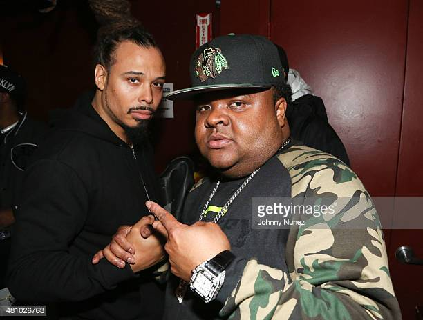 Bazaar Royale and Fred The Godson attend Rakim in Concert at S.O.B.'s on March 27, 2014 in New York City.