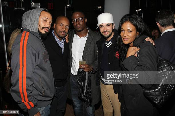 Bazaar Royale DJ DNice DJ MOS DJ Cassidy DJ Beverly Bond attend a Hennessey Black party to celebrate DJ DNice signing to Roc Nation DJ's at The...