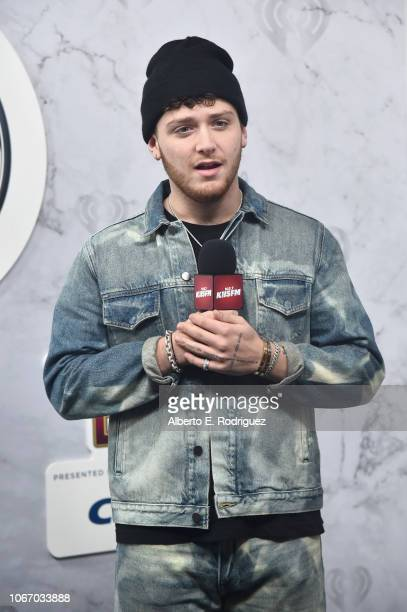 Bazzi attends 1027 KIIS FM's Jingle Ball 2018 Presented by Capital One at The Forum on November 30 2018 in Inglewood California