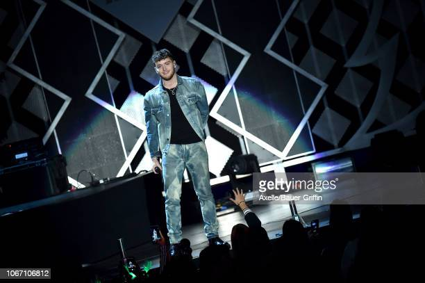 Bazzi performs at KIIS FM's Jingle Ball 2018 presented by Capital One at The Forum on November 30 2018 in Inglewood California