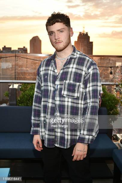 Bazzi performs at Spotify's Songs Of Summer Soiree at Hotel 50 Bowery on June 25 2019 in New York City