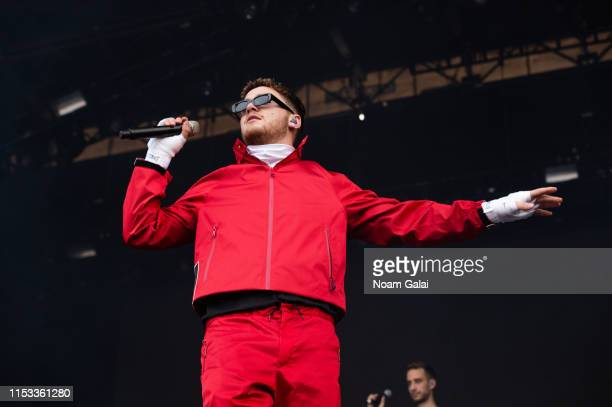 Bazzi performs at the 2019 Governors Ball Festival at Randall's Island on June 02 2019 in New York City