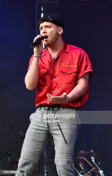 Bazzi performs in concert during 2018 Music Midtown at Piedmont Park on September 16 2018 in Atlanta Georgia