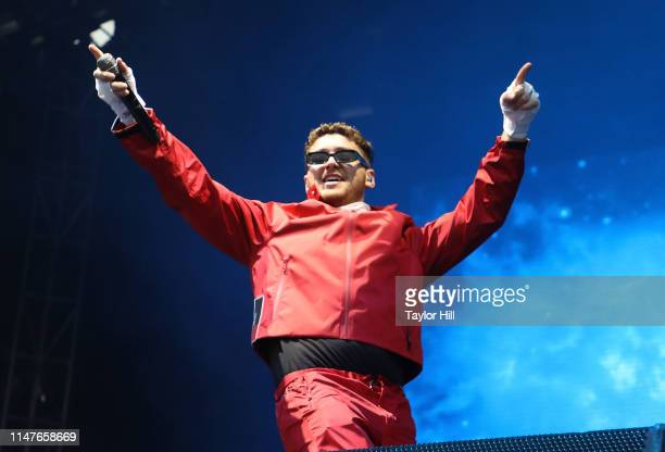 Bazzi performs onstage during day 3 of 2019 Governors Ball Music Festival at Randall's Island on June 2 2019 in New York City