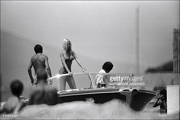 Bardot And Gunther Sachs in Saint Tropez France in August 1962