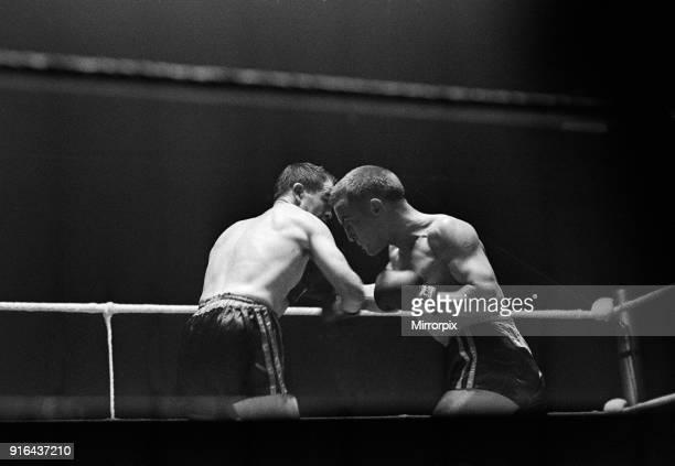 BBBofC British bantamweight title and Commonwealth bantamweight title fight at Kings Hall, Belfast, Northern Ireland between Belfast rivals Freddie...