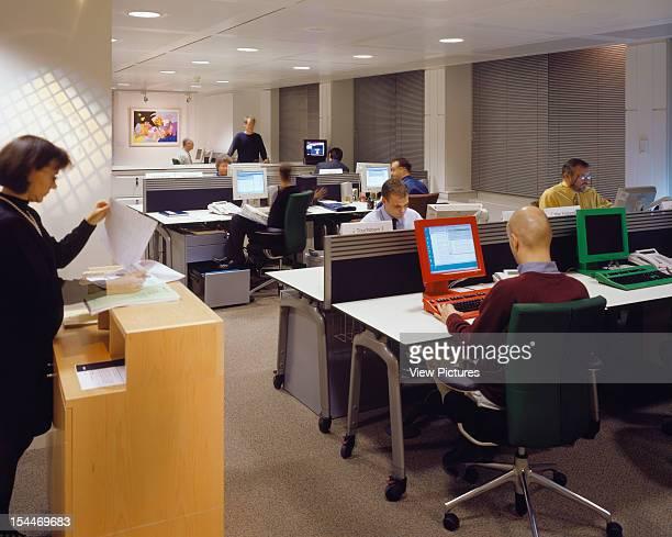 Bbc New Media Centre London United Kingdom Architect Degw Bbc Centre View Of Office Space