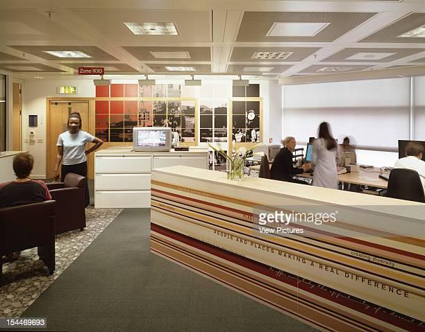 Bbc New Media Centre, London, United Kingdom, Architect Degw Bbc Centre View Of Office Area