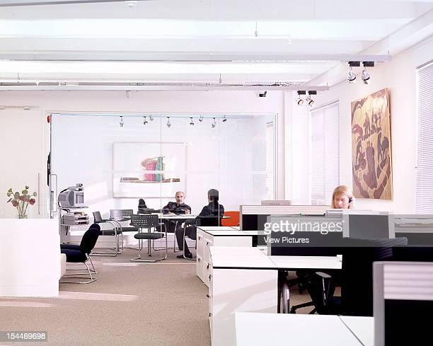 Bbc New Media Centre, London, United Kingdom, Architect Degw Bbc Centre Landscape View Of Office And Desks