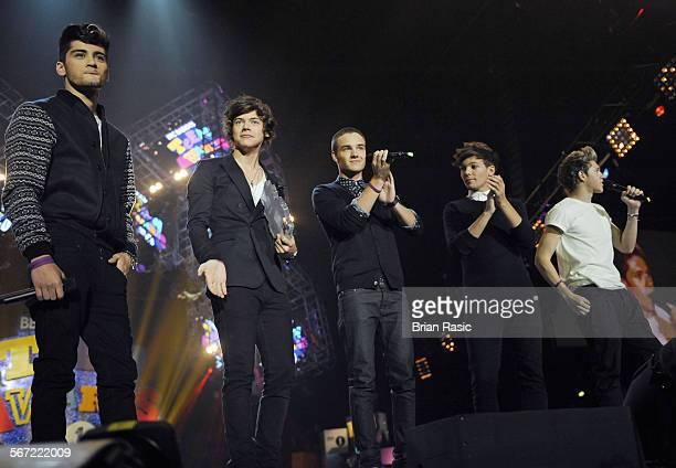 Bbc Radio 1'S Teen Awards Wembley Arena London Britain 07 Oct 2012 One Direction Zayn Malik Harry Styles Liam Payne Louis Tomlinson Niall Horan