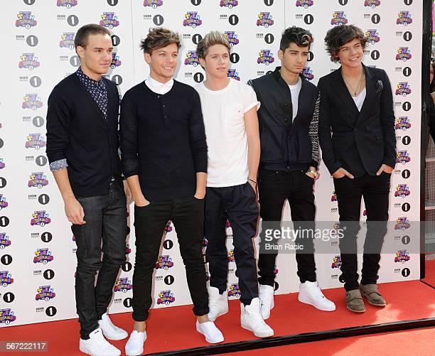 Bbc Radio 1'S Teen Awards Wembley Arena London Britain 07 Oct 2012 One Direction Liam Payne Louis Tomlinson Niall Horan Zayn Malik Harry Styles